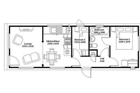 2 bedroom park home for sale - Edkins Park, Aston Cantlow Road, Stratford-Upon-Avon