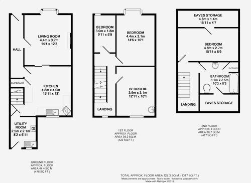 Floorplan: 15 Bainbridge Road