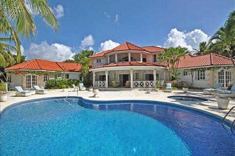 5 bedroom villa  - Sandy Lane, St James