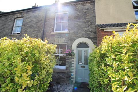 2 bedroom terraced house to rent - DENBIGH ROAD , GOLDEN TRIANGLE , NORWICH, NORFOLK NR2