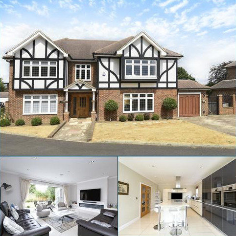 6 bedroom detached house for sale - Langham Close, Bromley