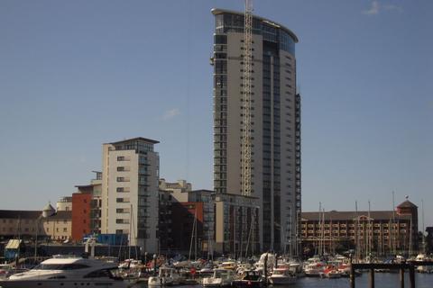 2 bedroom flat to rent - Meridian Tower, Maritime Quarter, Swansea