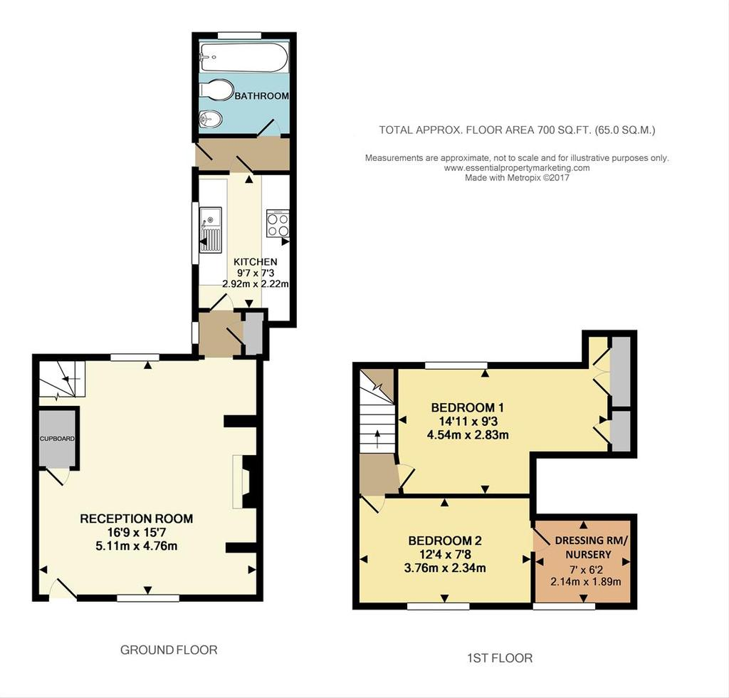 Floorplan: Kent Cottage, High Street, TN16  .jpg