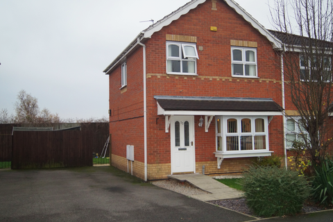 3 bedroom semi-detached house to rent - Dewchurch Drive, Sunnyhill, Derby DE23