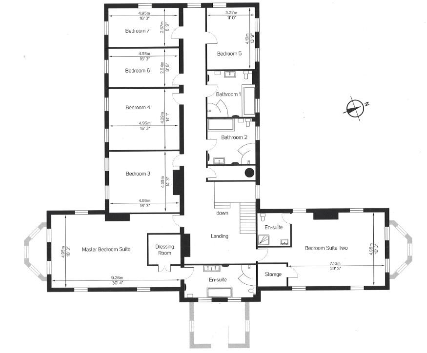 Floorplan 2 of 3: First floorplan