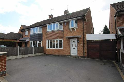 3 bedroom semi-detached house for sale - Robincroft Road, Allestree, Derby