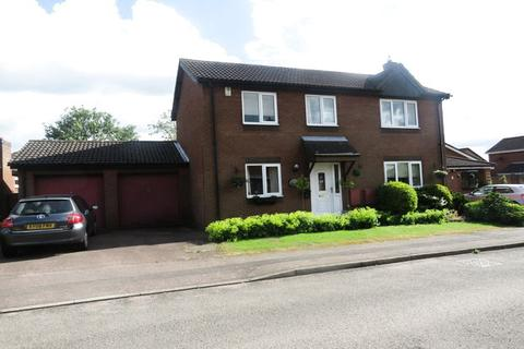 4 bedroom detached house for sale - Woodhall Close, West Hunsbury, Northampton, NN4