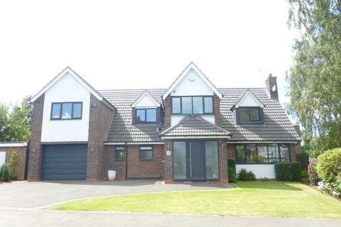 4 bedroom detached house for sale - Leigham Drive, Harborne, Birmingham, West Midlands, B17 8AX
