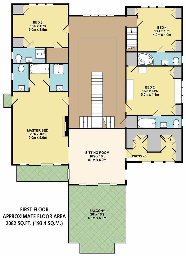Floorplan 3 of 9: First Floor