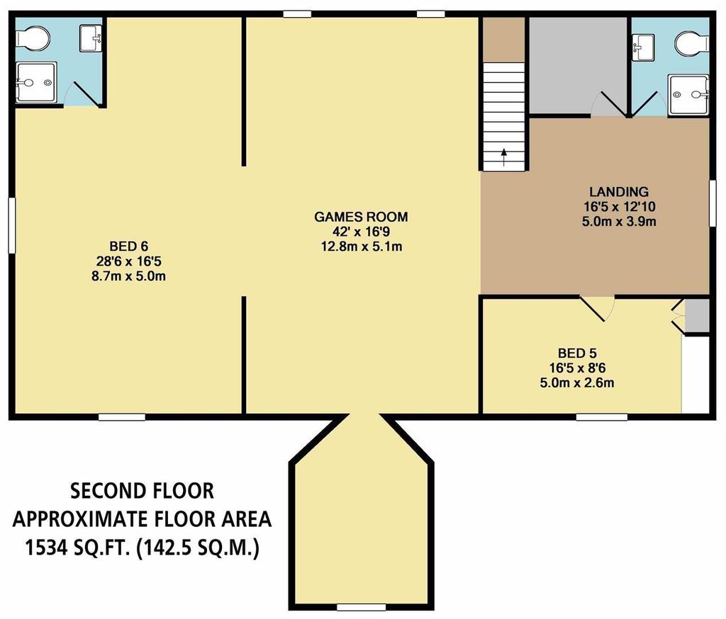 Floorplan 4 of 9: Second Floor