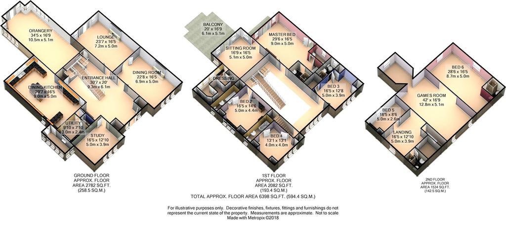 Floorplan 5 of 9: 3 D Floor Plan