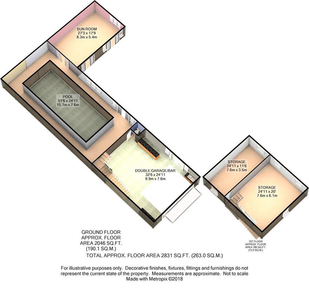 Floorplan 7 of 9: Outbuilding 3 D Floor Plan