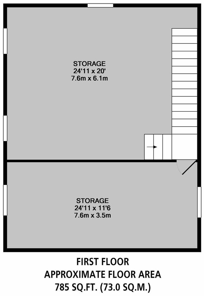 Floorplan 9 of 9: Outbuilding First Floor
