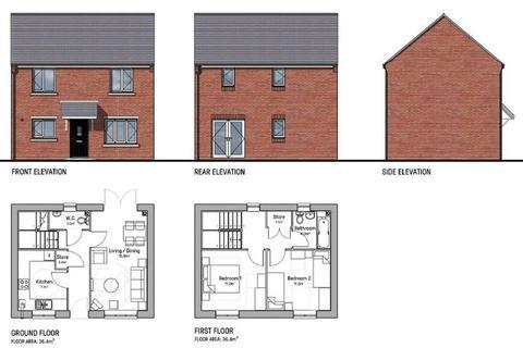 2 bedroom detached house for sale - Plot 13 Reddings Lane, Tyseley, Birmingham B11 3HB
