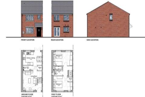 2 bedroom terraced house for sale - Plot 7 Reddings Lane, Tyseley, Birmingham B11 3HB