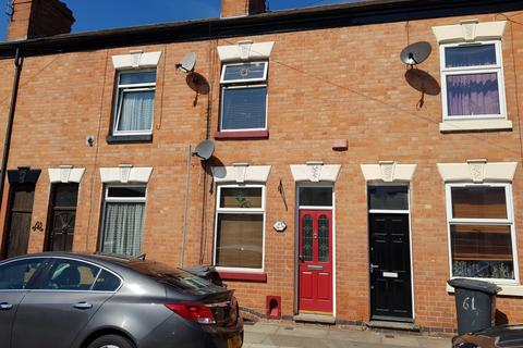 2 bedroom terraced house to rent - Carlisle Street, West End, Leice LE3