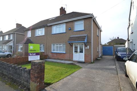 3 bedroom semi-detached house to rent - Heol Coed Cae , Whitchurch, Cardiff. CF14 1HL