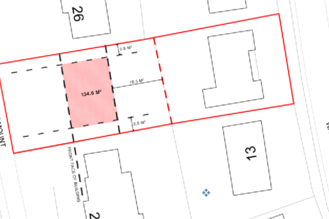 Plot for sale - Wayside Crescent, Scarcroft, Leeds LS14