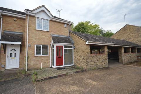 3 bedroom end of terrace house for sale - Halleys Way, Houghton Regis