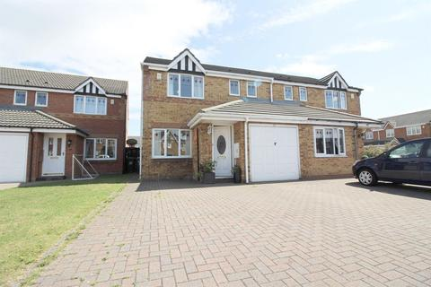 3 bedroom semi-detached house for sale - Bede Close, Holystone, Newcastle Upon Tyne