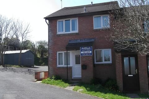 1 bedroom end of terrace house to rent - Tlysfan, Fishguard