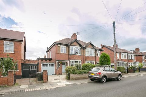 3 bedroom semi-detached house for sale - Sturdee Gardens, High West Jesmond, Newcastle upon Tyne