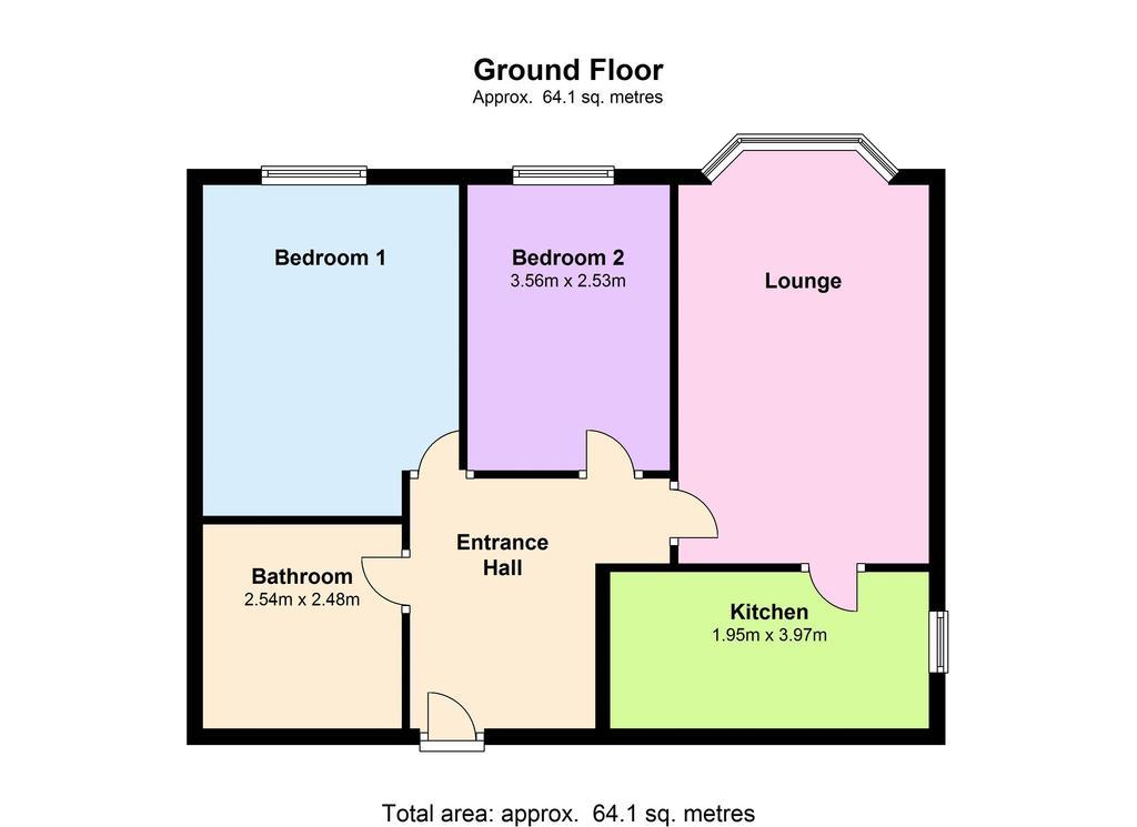 Floorplan: Flat Floorplan