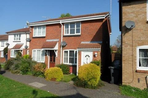 2 bedroom semi-detached house to rent - Hawkfields, Bushmead, Luton, Bedfordshire, LU2 7NN