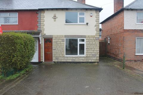 2 bedroom semi-detached house to rent - Matlock Avenue, South Wigston, Leicester, LE18