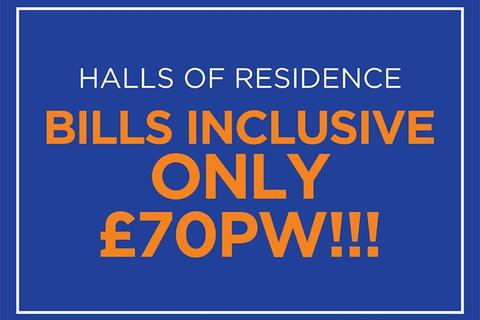 1 bedroom flat share to rent - ** STUDENT HALLS - NOW REDUCED SAVE £££ **