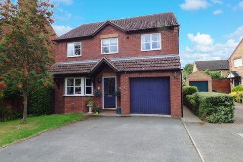 4 bedroom detached house for sale - St Clares Court, Lower Bullingham, Hereford