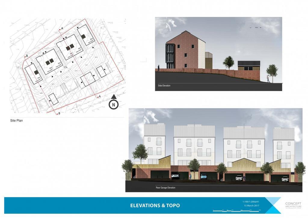 Site  Plan Elevation