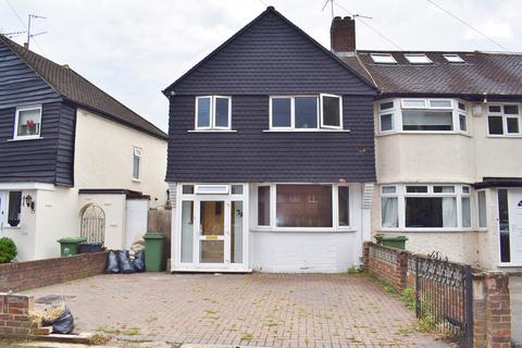 3 bedroom end of terrace house for sale - Berwick Crescent, Sidcup, Kent, DA15 8HU