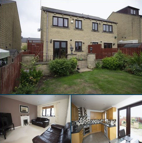 2 bedroom semi-detached house for sale - 92 Bradley View, Holywell Green HX4 9EA