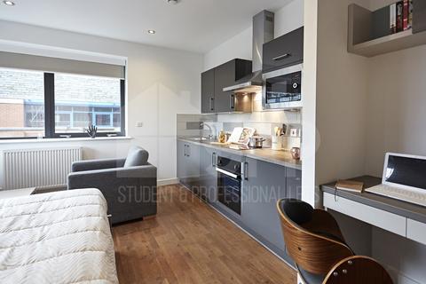 Studio to rent - Havana Residence, Wade Lane, Leeds, LS2