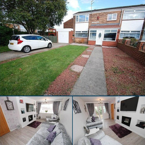 3 bedroom semi-detached house for sale - Masefield Drive, South Shields