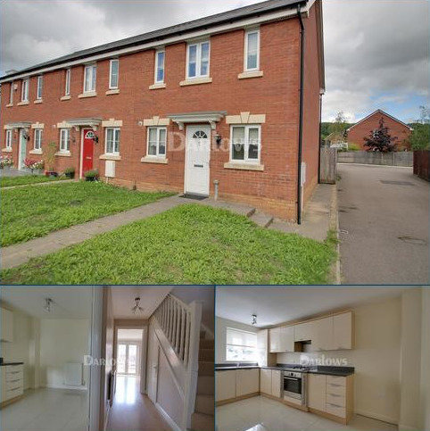 3 bedroom end of terrace house for sale - Clos Llewellyn, Taffs Well