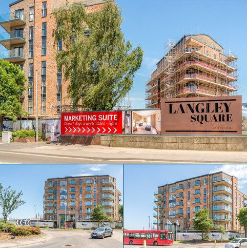 3 bedroom apartment for sale - The Knight, Langley Square, Dartford, Kent, DA1