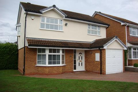4 bedroom detached house to rent - Bufferys Close, Solihull, B91 3UX