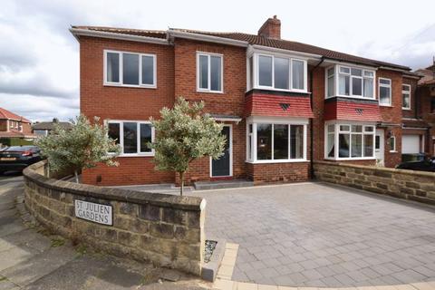 4 bedroom semi-detached house for sale - St. Julien Gardens, Newcastle Upon Tyne