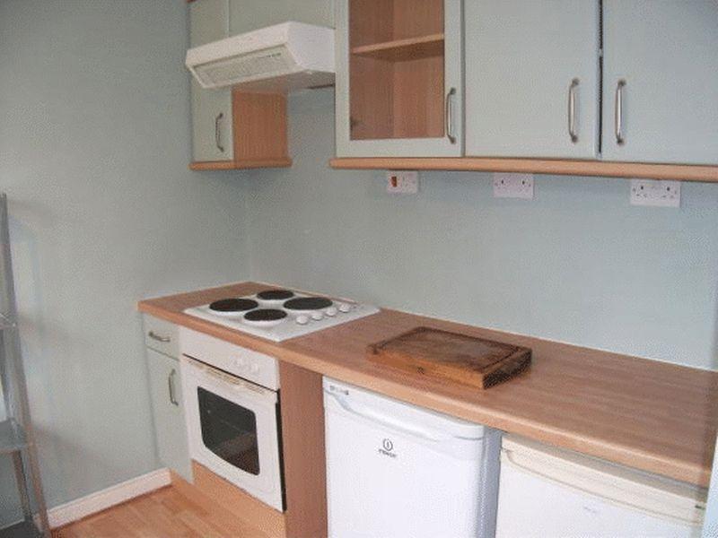 Reverse view kitchen