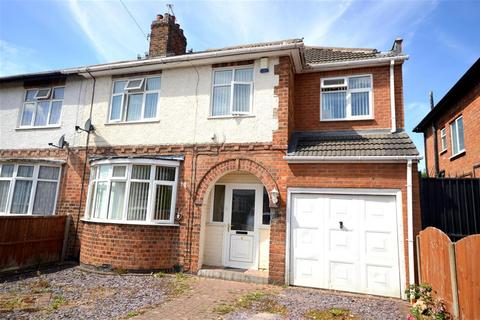 4 bedroom semi-detached house for sale - Willow Park Drive, Wigston, Leicester, LE18 1EB