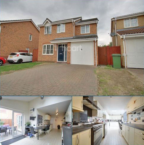 4 bedroom detached house for sale - Cherry Blossom Close, Ipswich