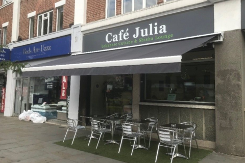 Cafe to rent - Julia cafe, 179-183 Greenford Road, Greenford, Middlesex, UB6