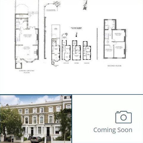 4 bedroom house to rent - Scarsdale Villas, London, W8