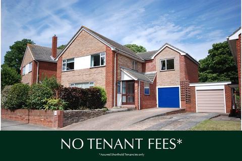 4 bedroom detached house to rent - Heavitree, Exeter