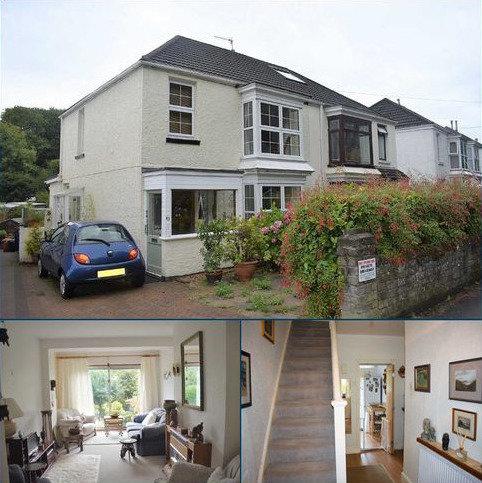 3 bedroom semi-detached house for sale - Castle Road, Mumbles, Swansea