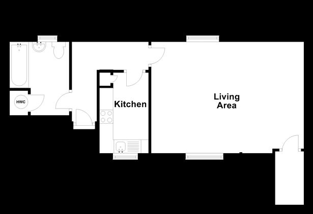 Floorplan: Split Level Lower Ground Floor
