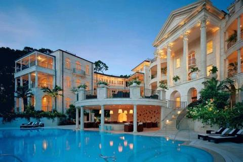 5 bedroom penthouse  - One Sandy Lane, St James, Barbados