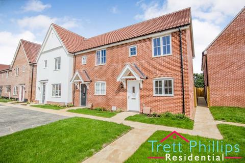 2 bedroom end of terrace house to rent - Smedley Close, North Walsham